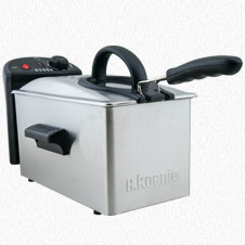 STAINLESS STEEL DEEP FRYER DFX300