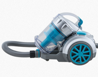 HUGO BAGLESS VACUUM CLEANER TC34 BLUE