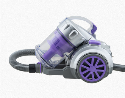 HUGO BAGLESS VACUUM CLEANER TC34 PURPLE