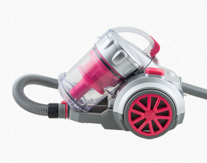 HUGO BAGLESS VACUUM CLEANER TC34 RED