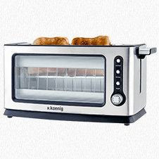 TRANSPARENT VISION TOASTER VIEW6