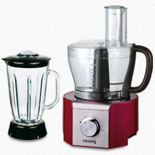 MULTIFUNCTIONAL FOOD PROCESSOR MX18 RED