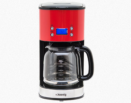 PROGRAMMABLE COFFEE MAKER MG30 RED
