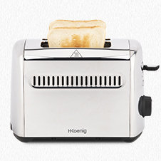 Crust & crunch toaster TOS9
