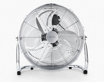 retro metal floor fan JOE30